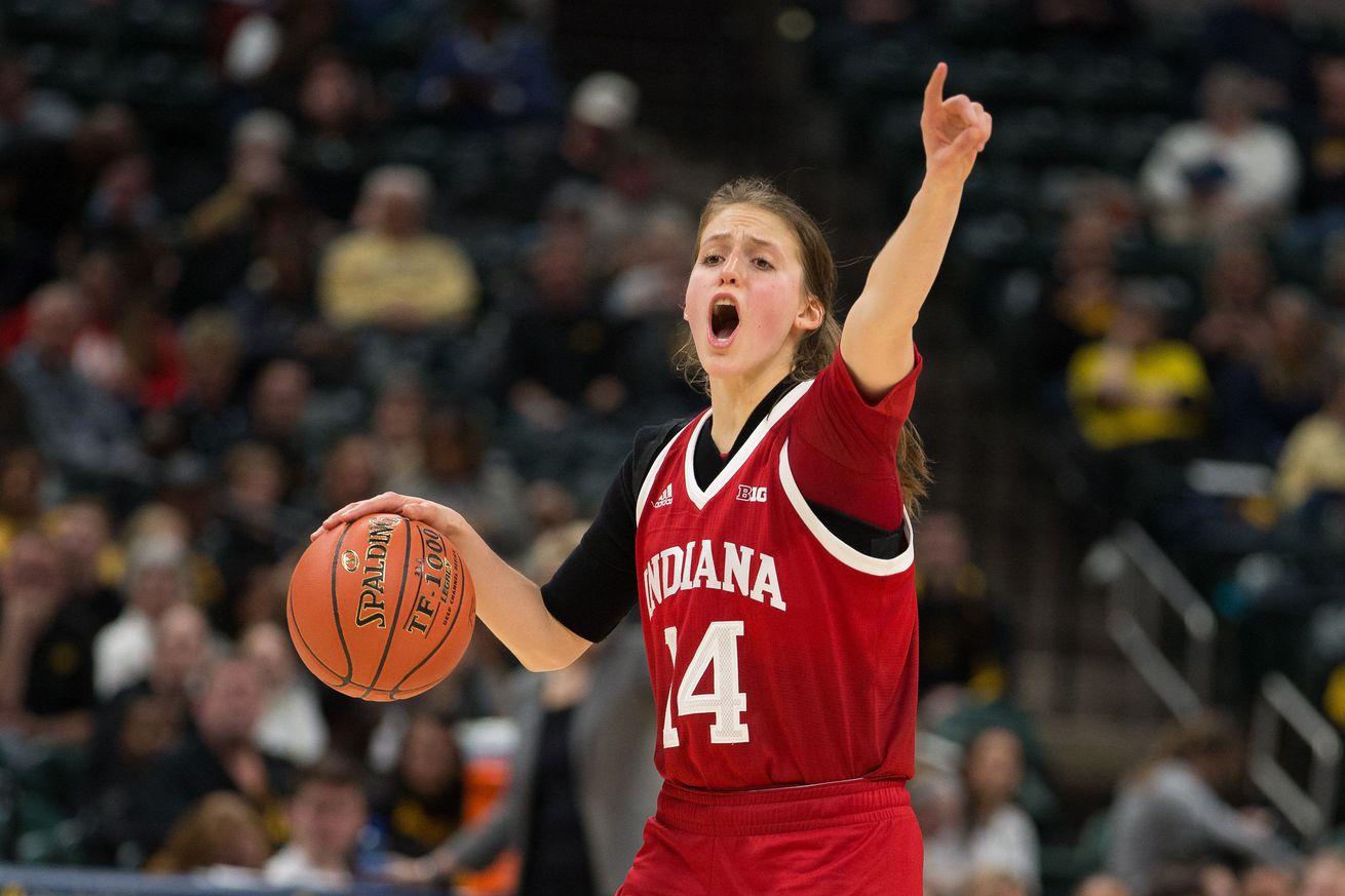 NCAA Womens Basketball: Big Ten Conference Tournament-Iowa vs Indiana