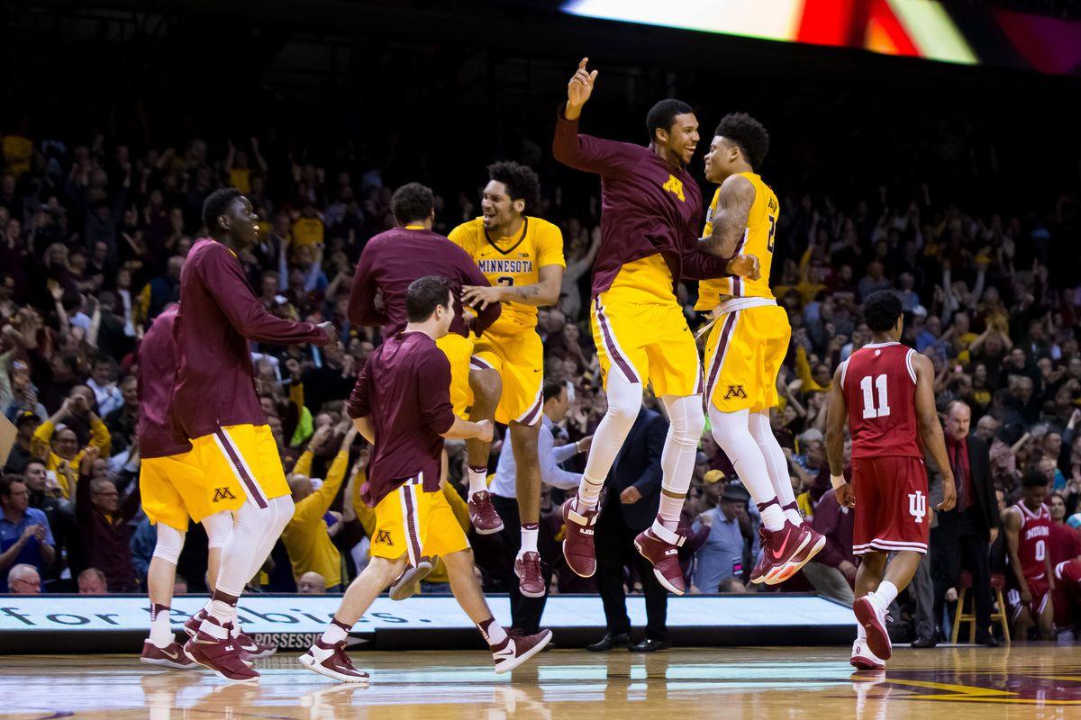 NCAA Basketball: Indiana at Minnesota