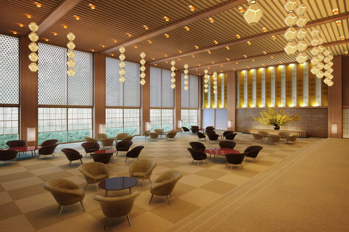 Tokyo s hotel okura to reopen in 2019 after renovations for Design hotel tokyo