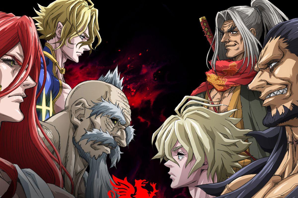 Promotional art for Netlfix's Record of Ragnarok anime