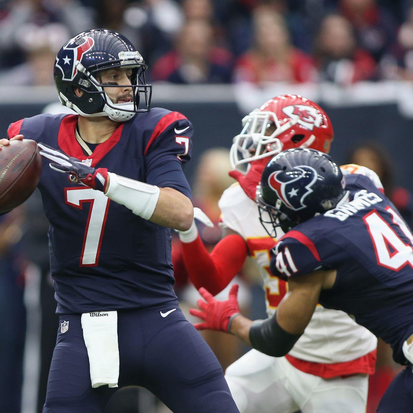 Texans Release Brian Hoyer A Month After Adding Brock Osweiler Sbnation Com