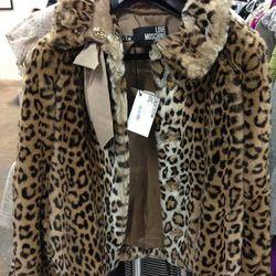 Necessary leopard Moschino coat.