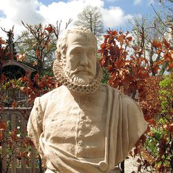 Carolus Clusius introduced the tulip to Holland as head of the Leiden Botanical Garden.
