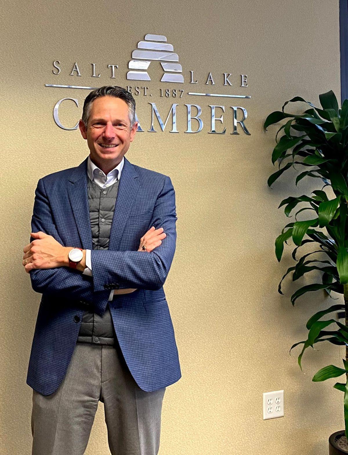 Derek Miller, president and CEO of the Salt Lake Chamber.