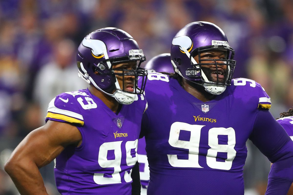 timeless design fb865 cc19b Handicapping the Vikings Defensive Linemen - Daily Norseman