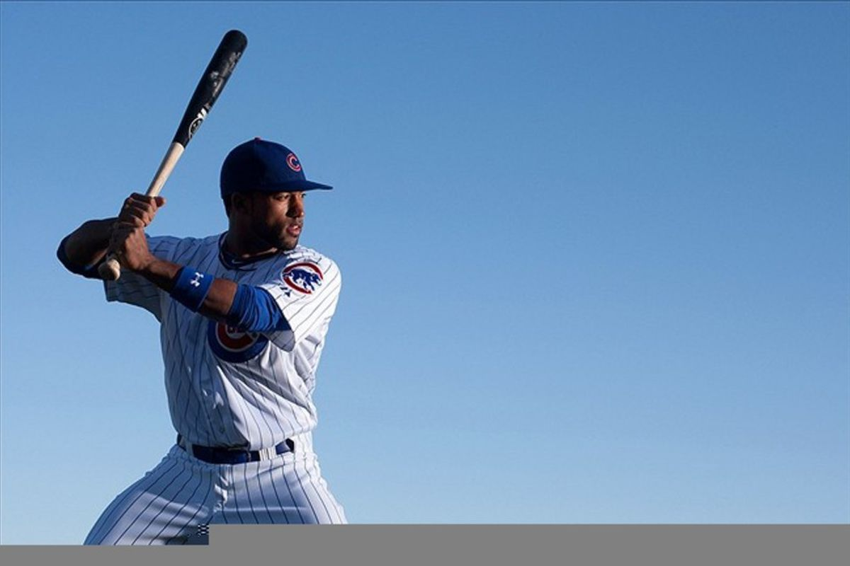 Dave Sappelt homered for the I-Cubs tonight. Credit: Jake Roth-US PRESSWIRE