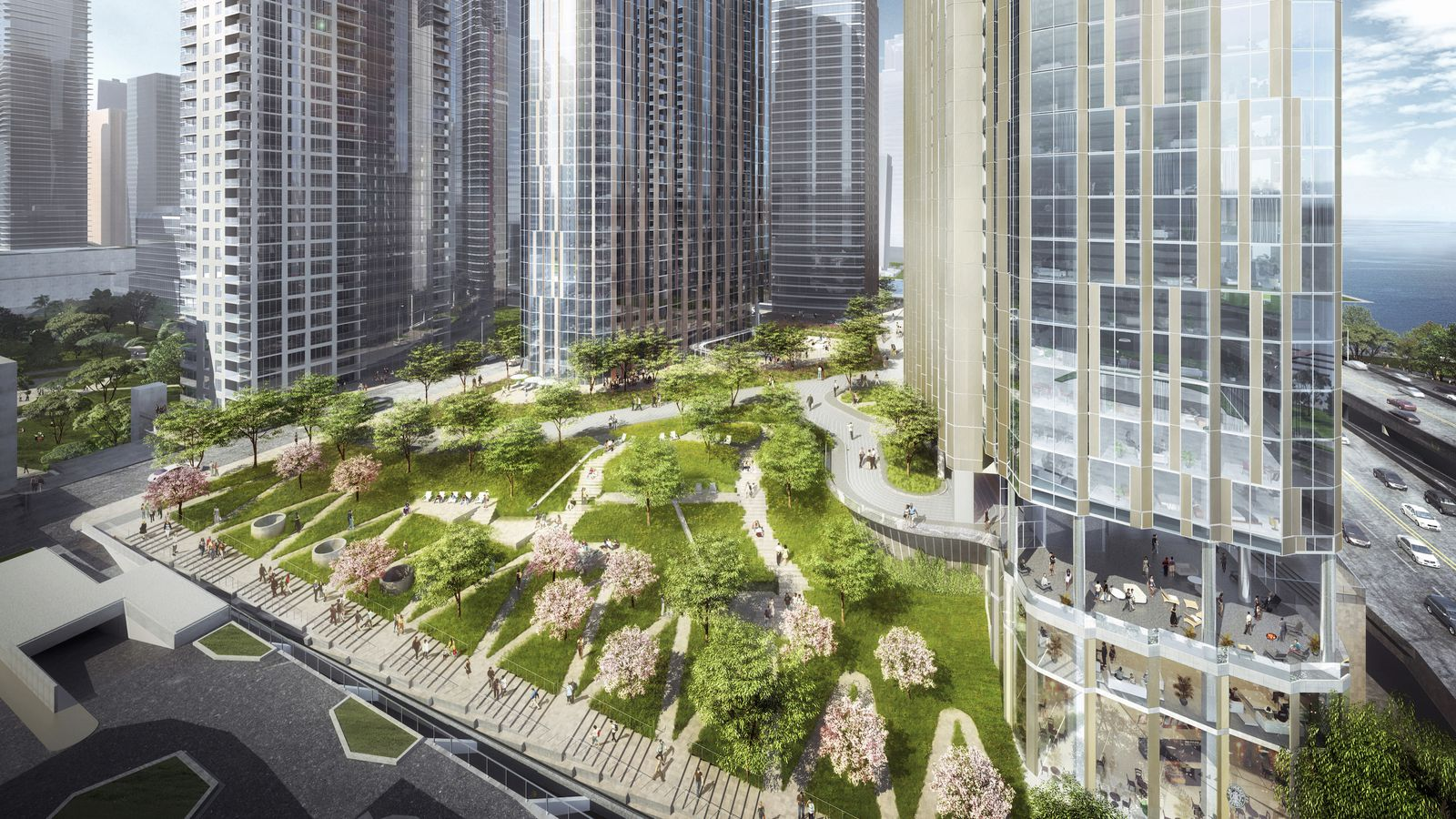 Kamin urban design stakes are high for lakeshore east for Lakeshore design builders