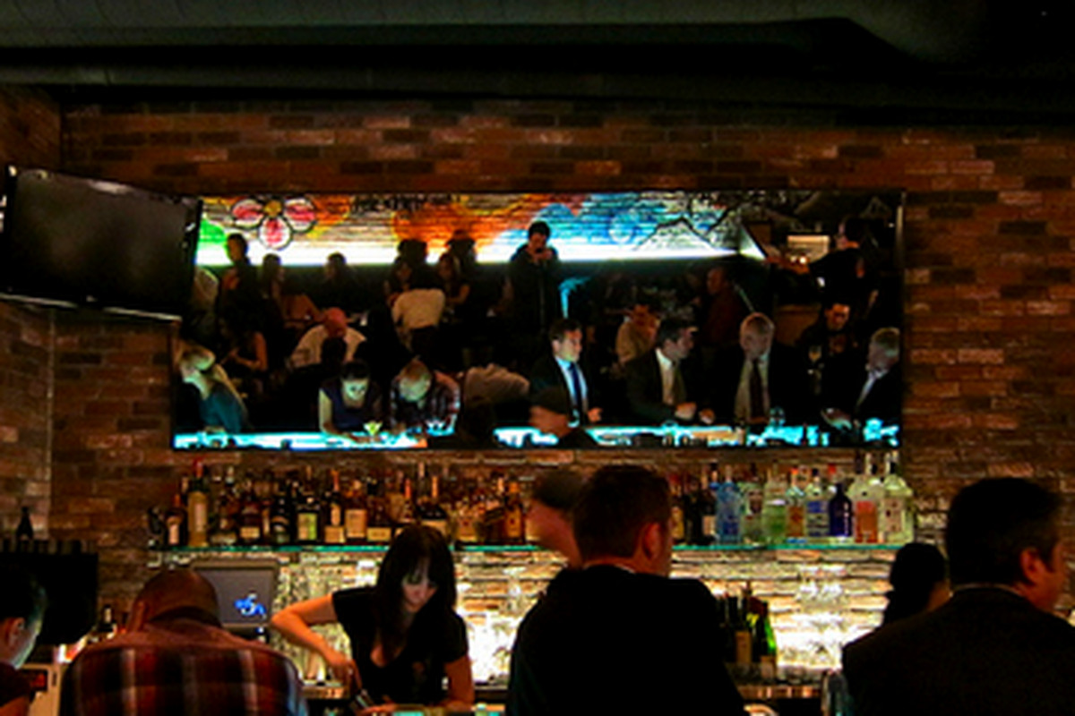 """Bar scene at Toranoko (<a href=""""http://la.eater.com/archives/2011/01/21/cool_calm_collect_aburiya_toranoko_adds_life_to_dtown.php"""">open</a> today), downtown."""