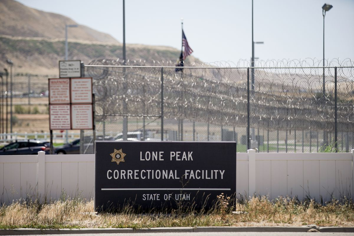 Lone Peak Correctional Facility, part of the Utah State Prison, in Draper is pictured on Thursday, Aug. 13, 2020.