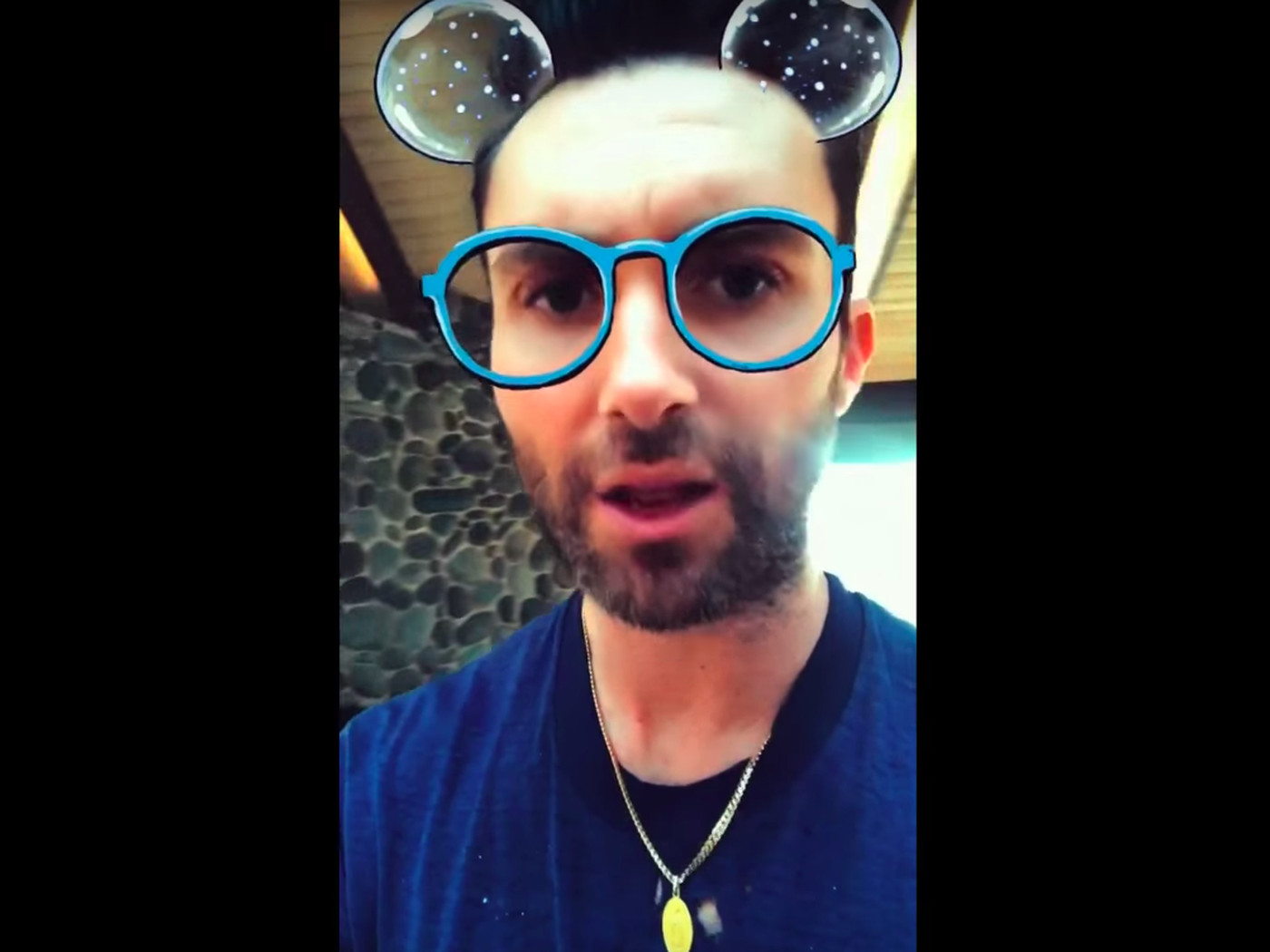 Maroon 5 discovers Snapchat filters in the music video for