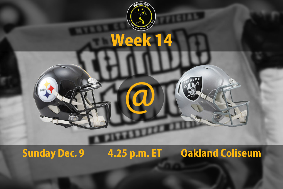 ef041b4a03e The Pittsburgh Steelers travel to Oakland for a matchup with the Raiders on  Sunday at a venue that have not won in since 1995. But despite their  opponent ...