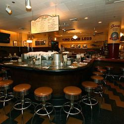 Sure the main dining room is great, but it's the actual oyster bar at Shaw's that deserves the shout out. No matter when you come, you'll fight for a spot at the central bar or one of the intimate booths along the wall. Why? The lively space has been serv