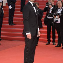 Justin Timberlake in Tom Ford at the premiere of 'Café Society.'