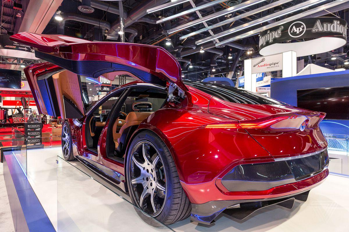 Fisker's 'autonomous' EMotion electric car promises 400