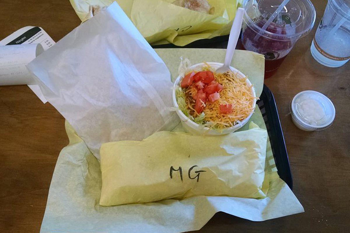 Food at Naugles