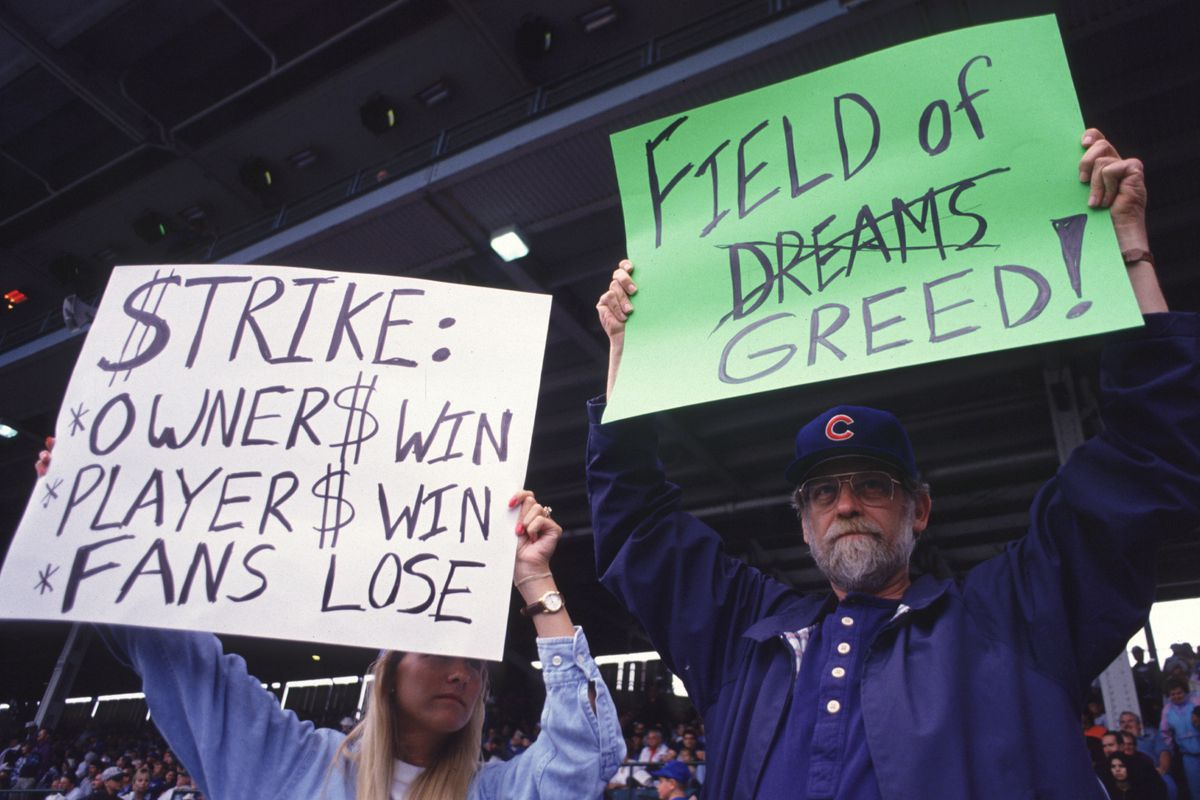 25 years ago today, MLB players went out on strike - Bleed