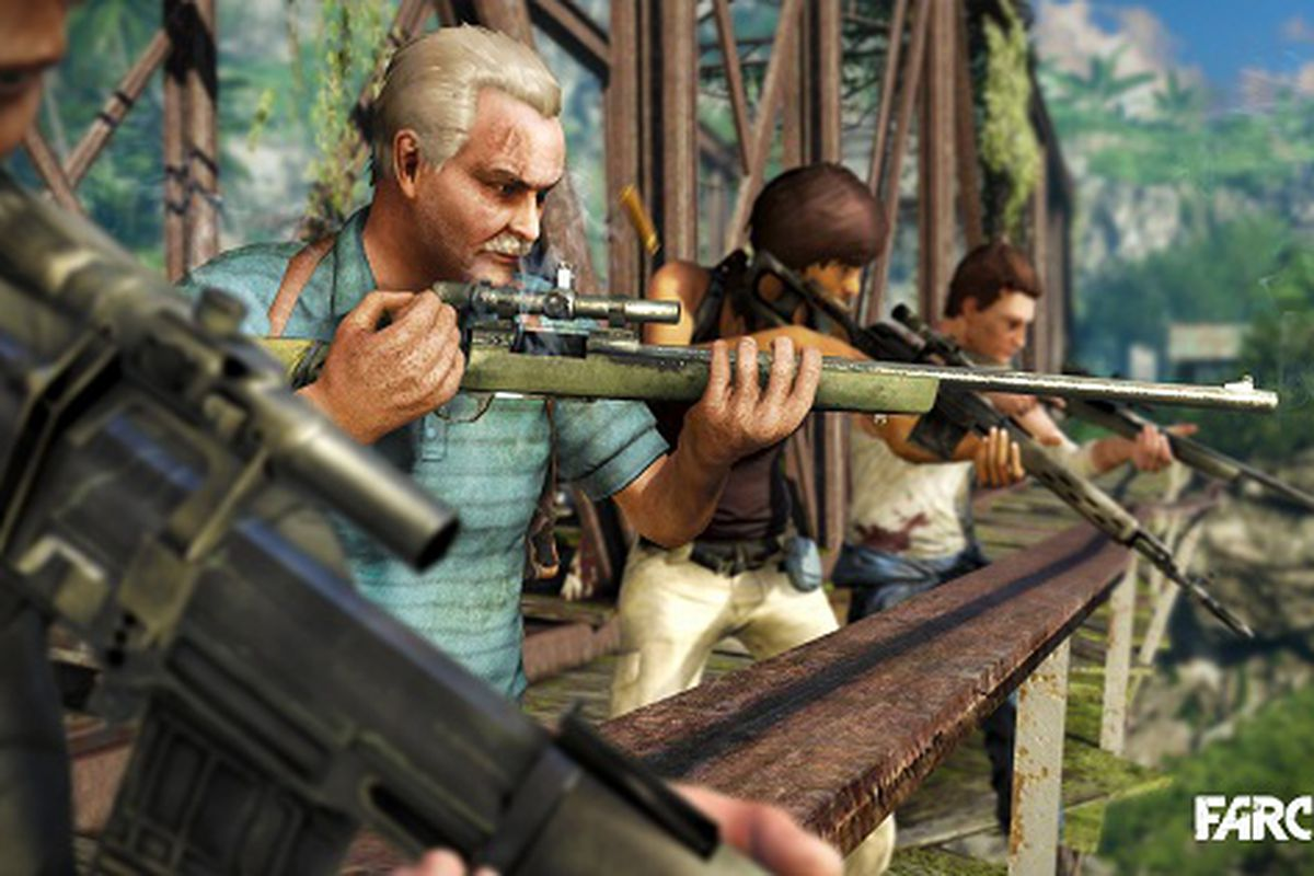 Far Cry 3 Co Op Walkthrough Unveils Character Cast And Team Play