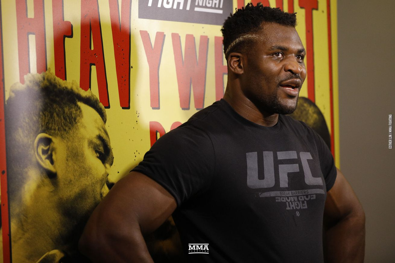 Francis Ngannou laments inactivity with Stipe Miocic out: 'I fought once for 20 seconds in the last 16 months'