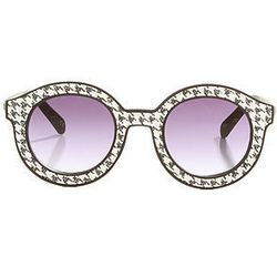 """<strong>Quay Eyewear</strong> Glomesh Sunglasses at <strong>Miss KL</strong>, <a href=""""http://www.misskl.com/product/The-Glomesh-Sunglasses-in-Sparkly-Houndstooth/361939"""">$40</a>"""
