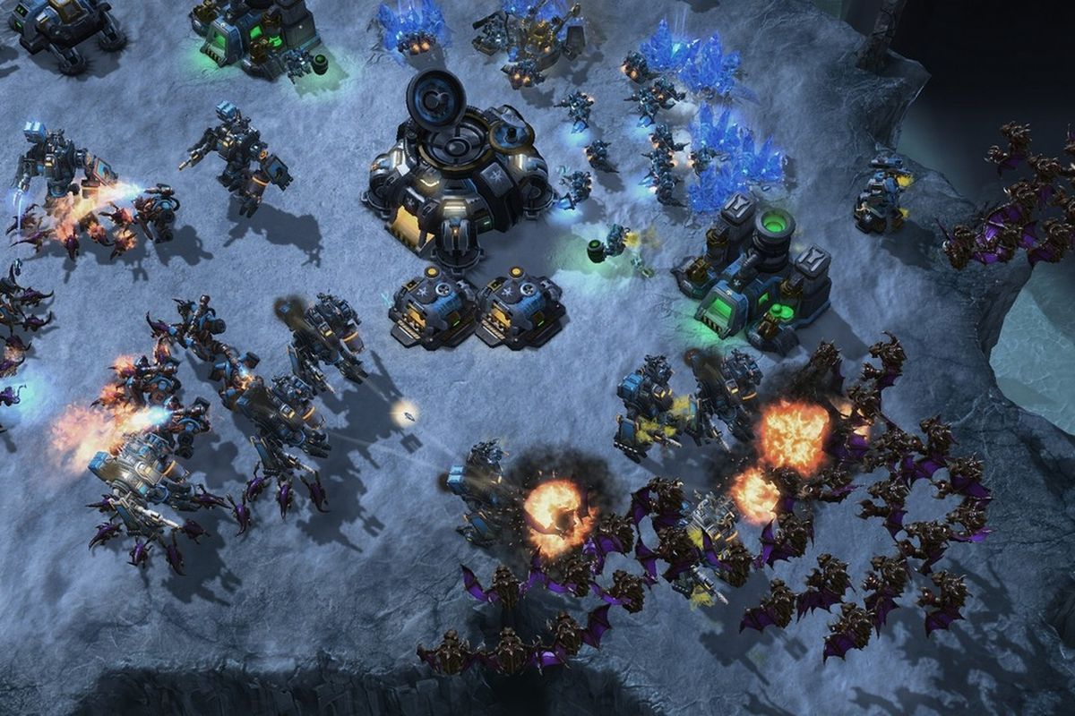 Starcraft  Can T Build No Space