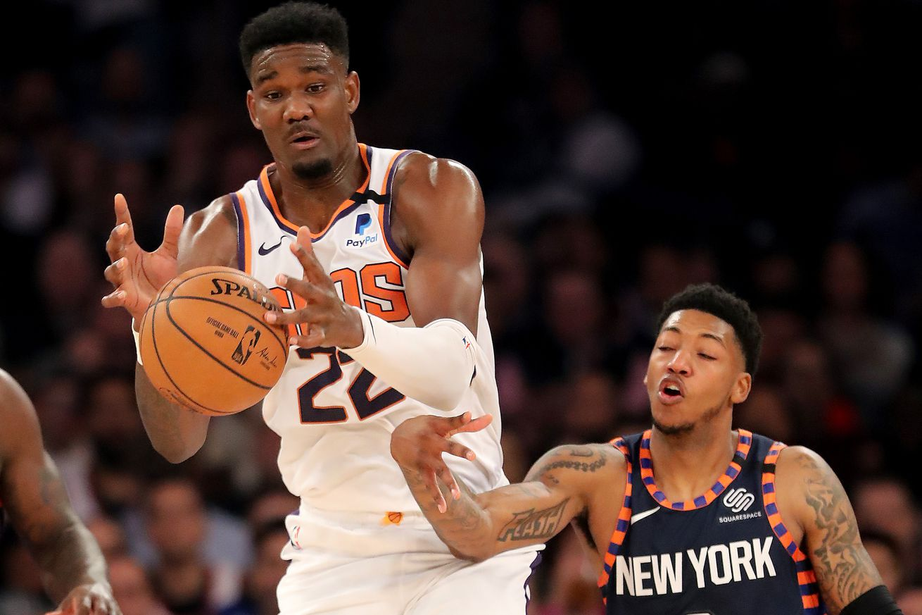 Suns 121, Knicks 98: Scenes from a reversion to Fiz-ball
