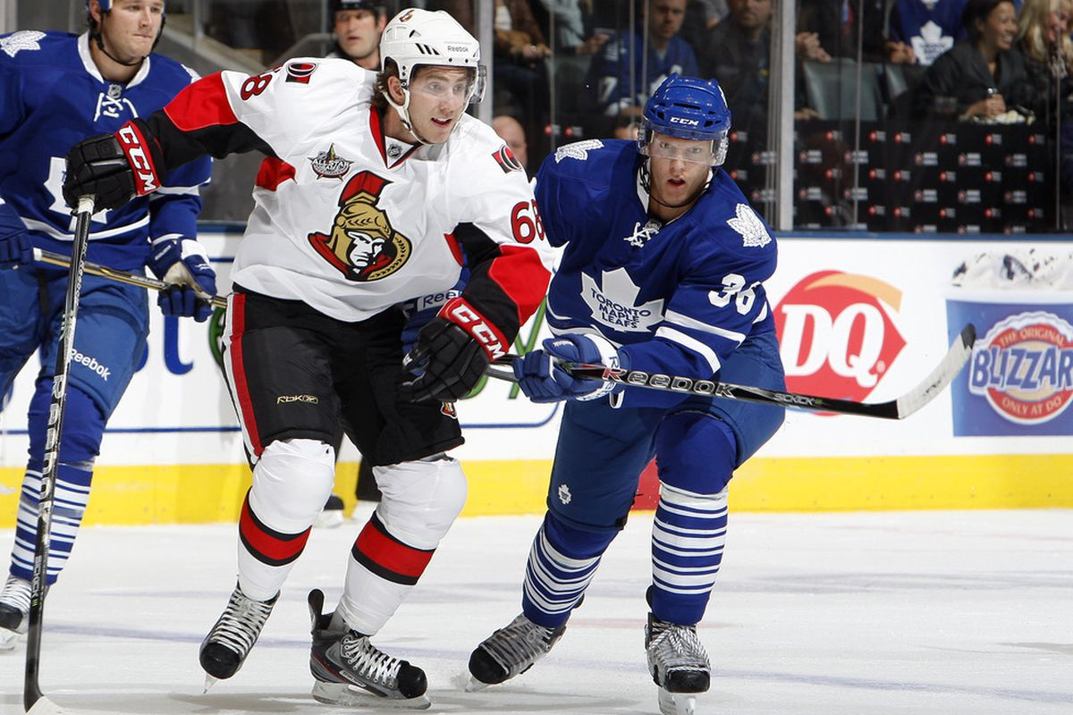 If I told you the Sens would be adding a number 68 at forward, you likely would have thought of Jaromir Jagr. Silly you.