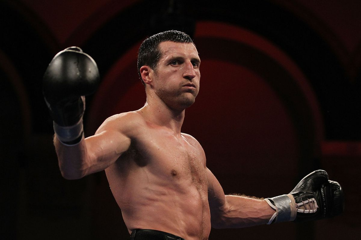 Carl Froch could be back in Atlantic City to face Andre Ward. (Photo by Al Bello/Getty Images)
