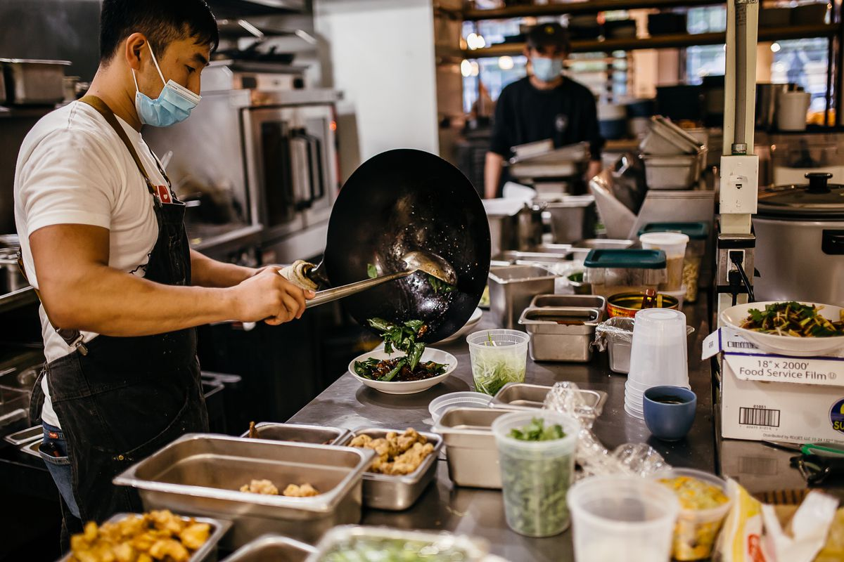 Andrew Chiou is the executive chef for Lucky Danger