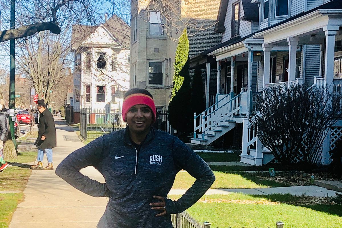 Manya Gupta, of Logan Square, is part of the new wave of runners.