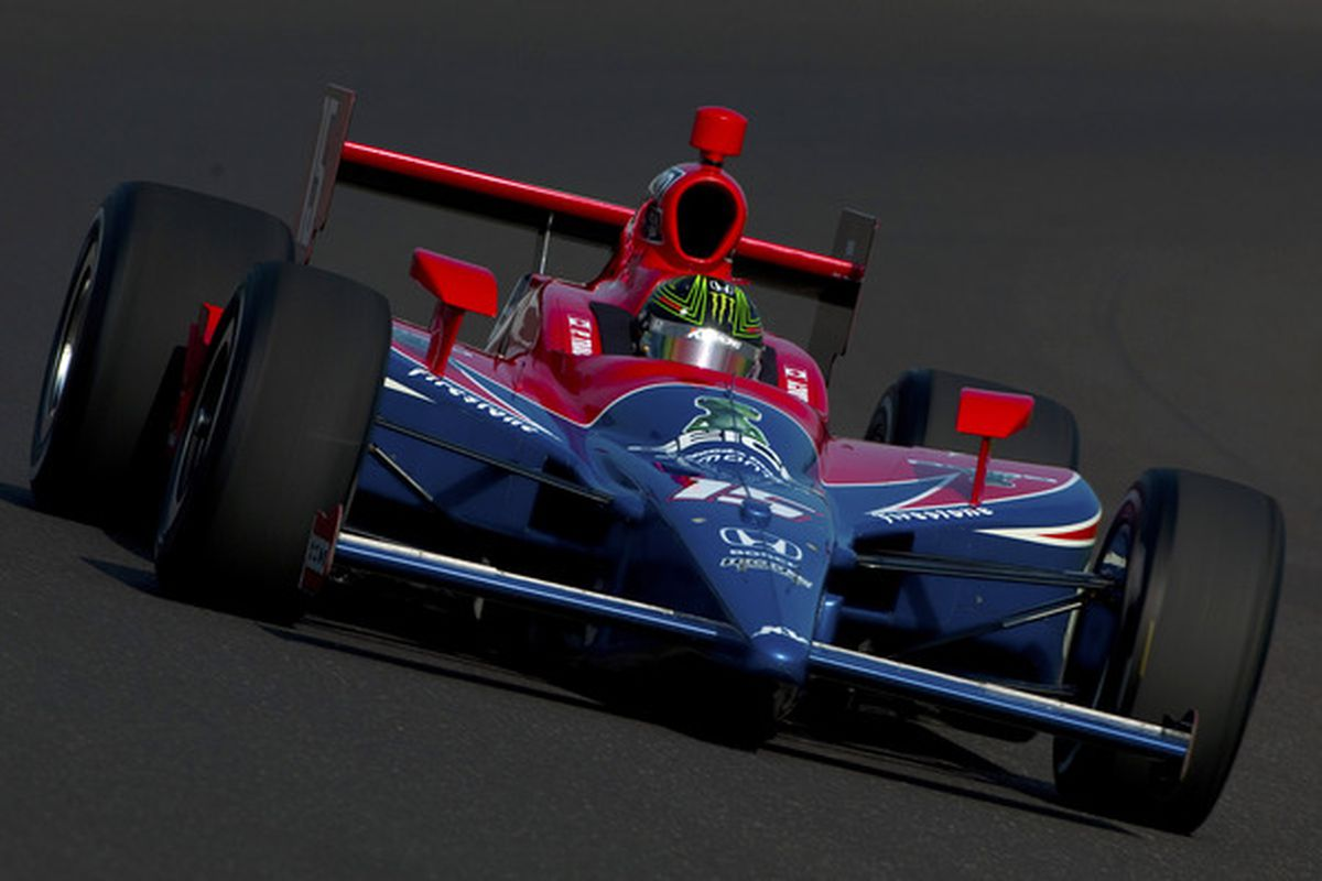 Paul Tracy's Month of May came down to a controversial call on the pit lane with only minutes to go in Bump Day qualifications (Photo by Robert Laberge/Getty Images)