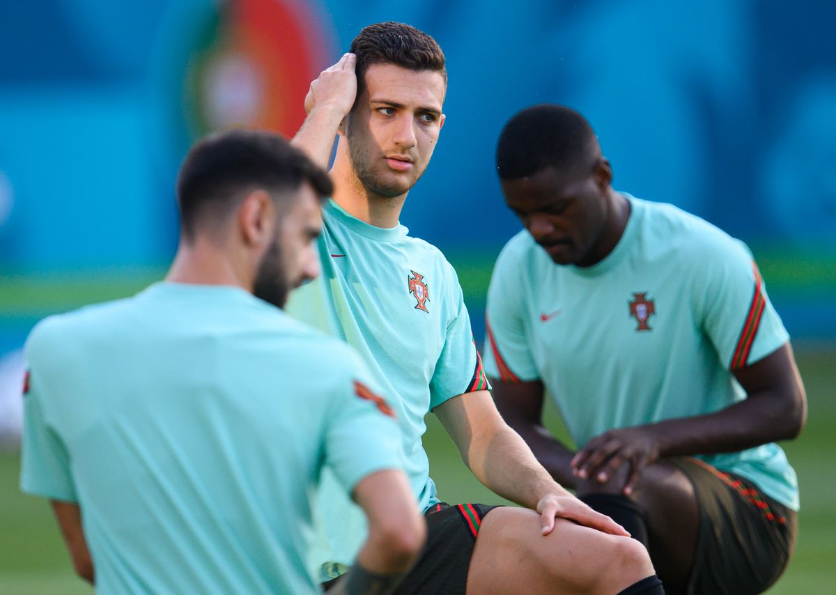 European Football Championship - Final Training Portugal