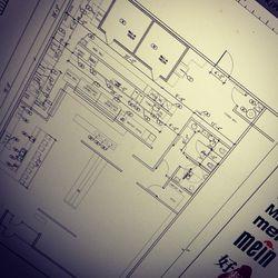 Mein Restaurant blueprint.