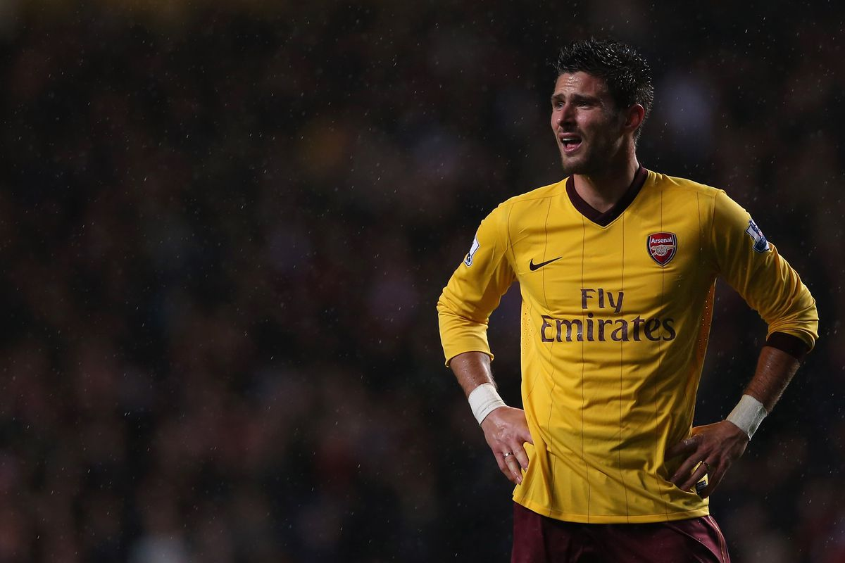 Giroud is ready to start for Arsenal at Reading on Monday night