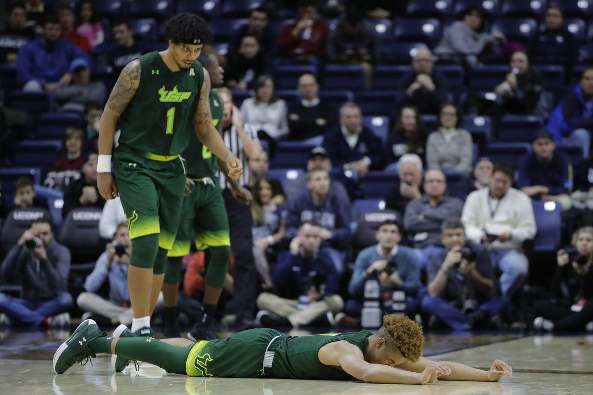 NCAA Basketball: South Florida at Connecticut