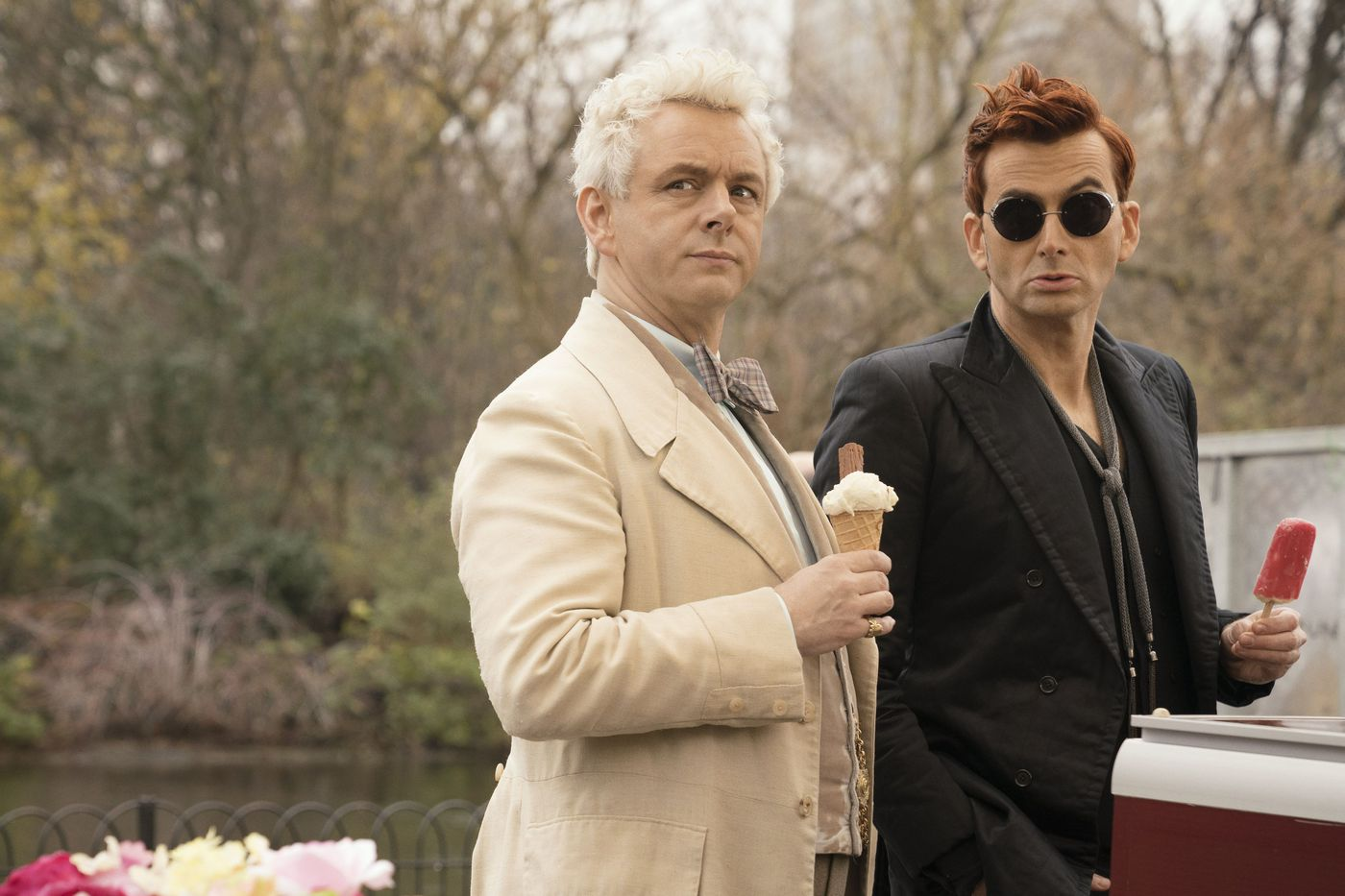 At heart, Amazon's Good Omens is a gay cosmic rom-com - The Verge