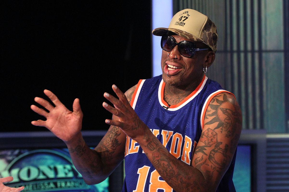 A cryptocurrency for weed is sending Dennis Rodman back to North