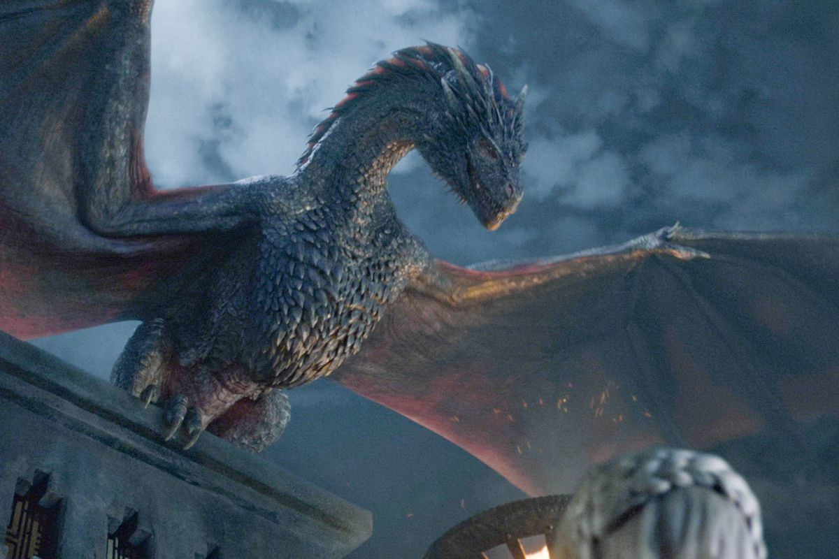Is Game of Thrones the first series featuring dragons to be a serious threat to win Drama Series? Depends on if you count Northern Exposure.