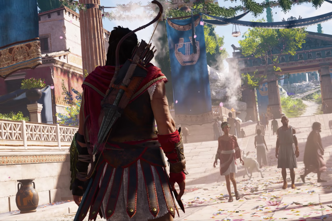 ubisoft announces assassin s creed odyssey set in ancient greece