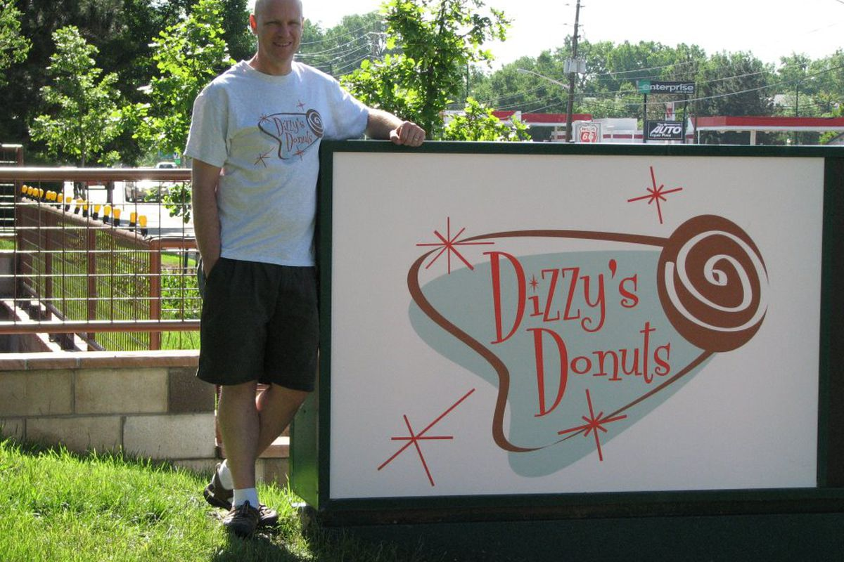 Chef Eric Guthrie at Dizzy's Donuts