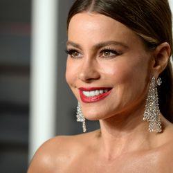 Sofia Vergara at the Vanity Fair Oscar Party