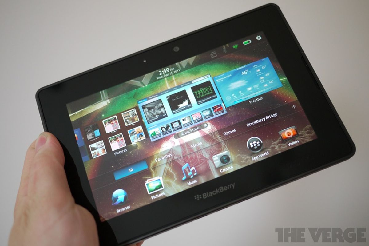 BlackBerry PlayBook OS 2 0: a big update for RIM's tablet - The Verge