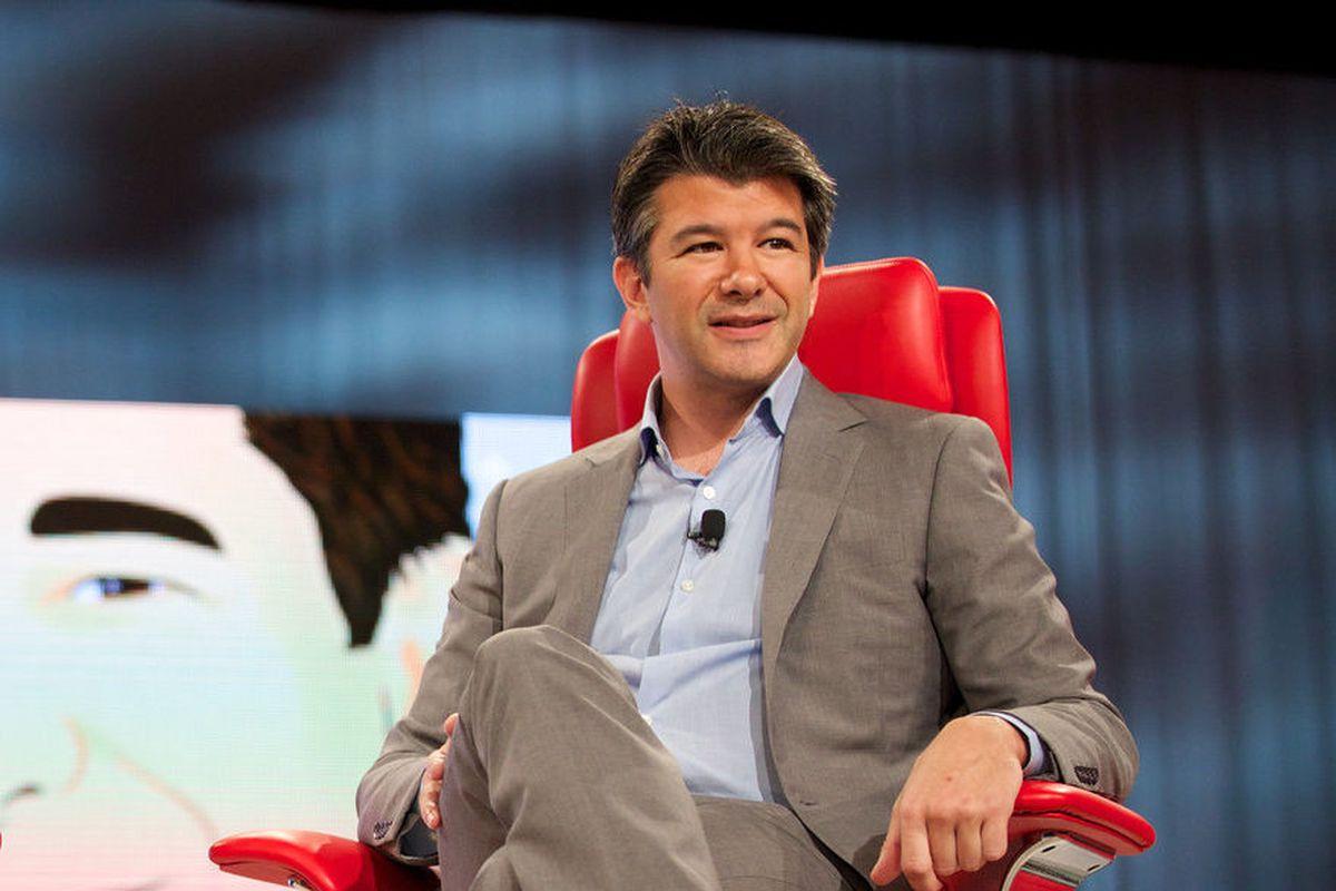 A photo of Uber CEO Travis Kalanick