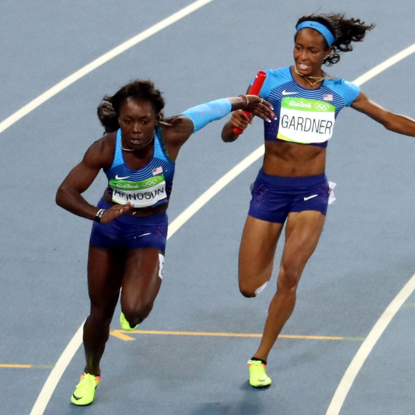 How do track relay handoffs work? - SBNation com
