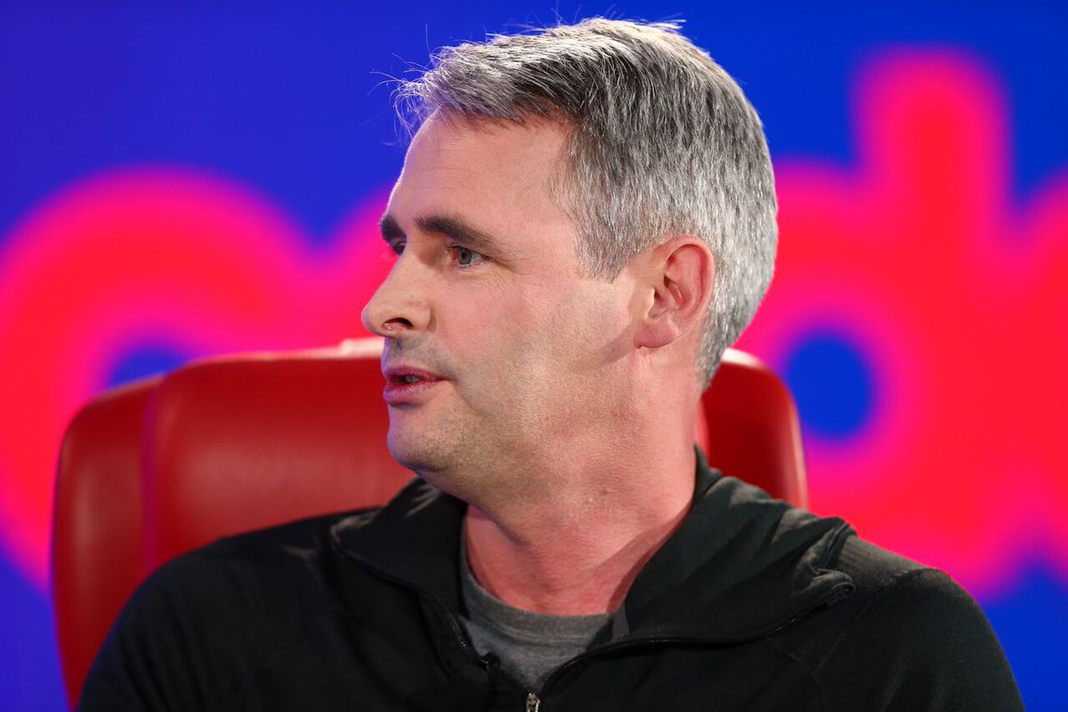Flipboard CEO Mike McCue at the 2018 Code Media conference
