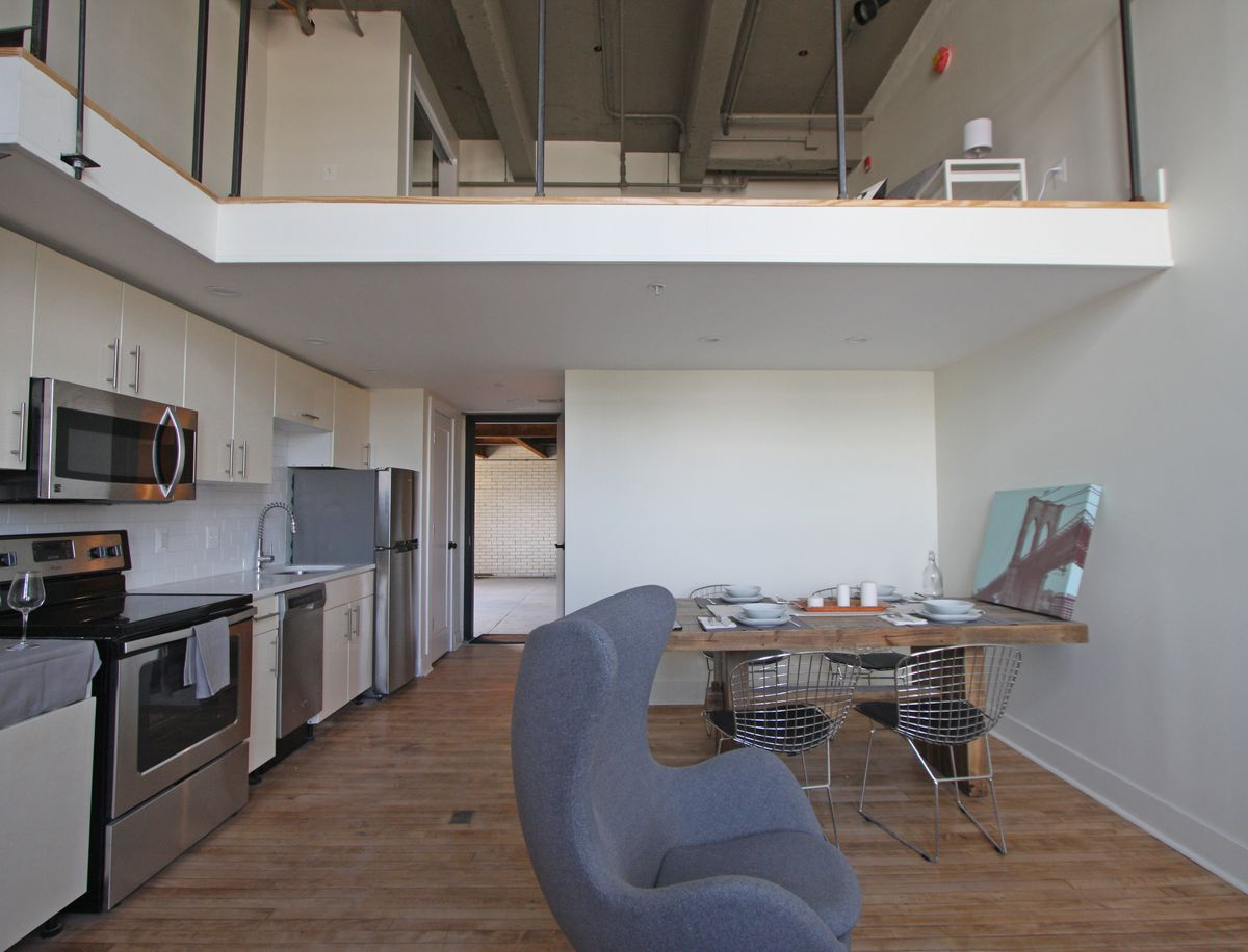 First Look Inside The New West Lofts At The Old West Philadelphia High School Curbed Philly