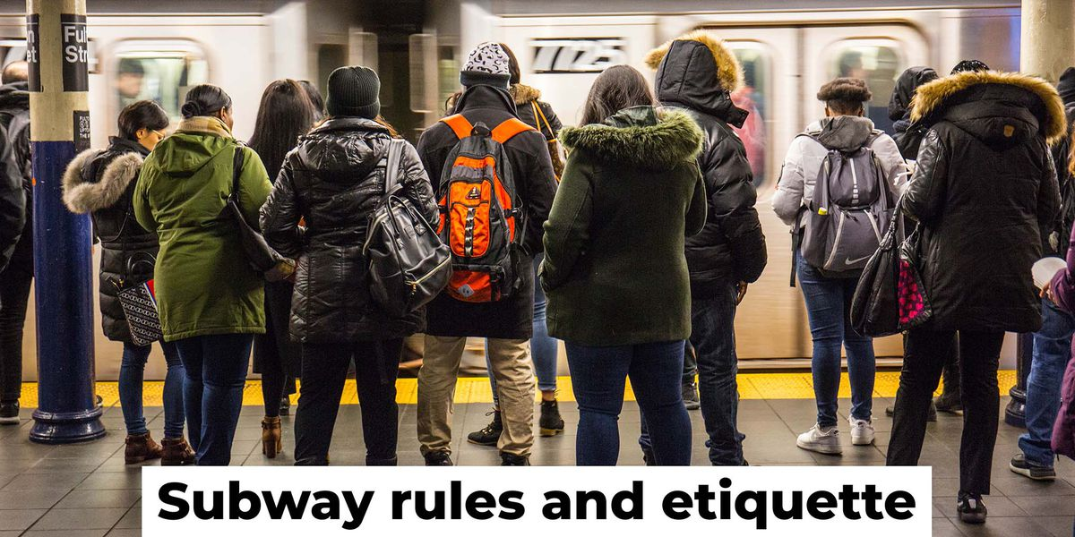 Subway rules and etiquette