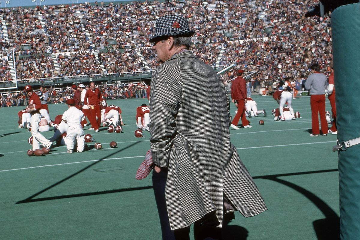 Behind Bear Bryant came trouble ...