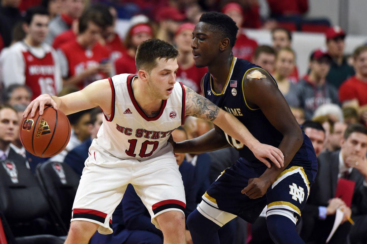 NCAA Basketball: Notre Dame at North Carolina State
