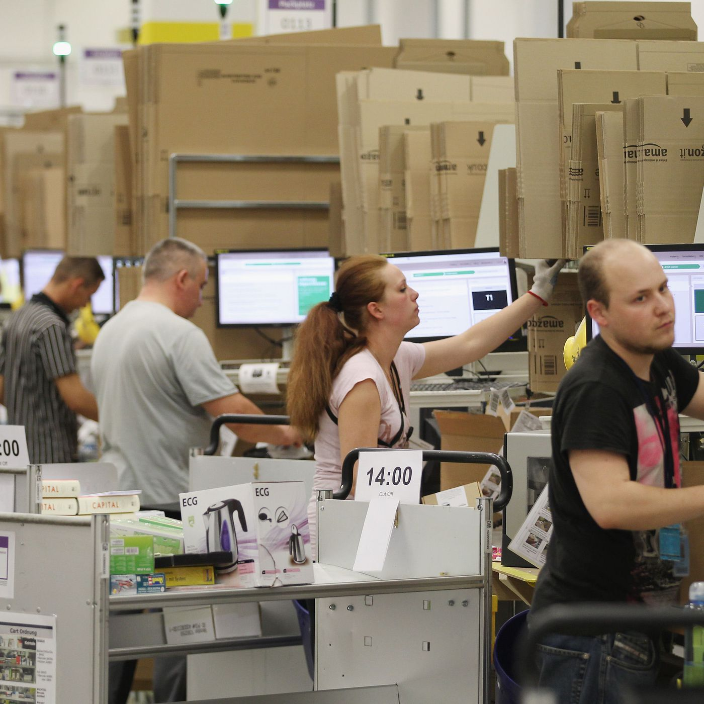 Amazon faces fines after death of two warehouse workers in two