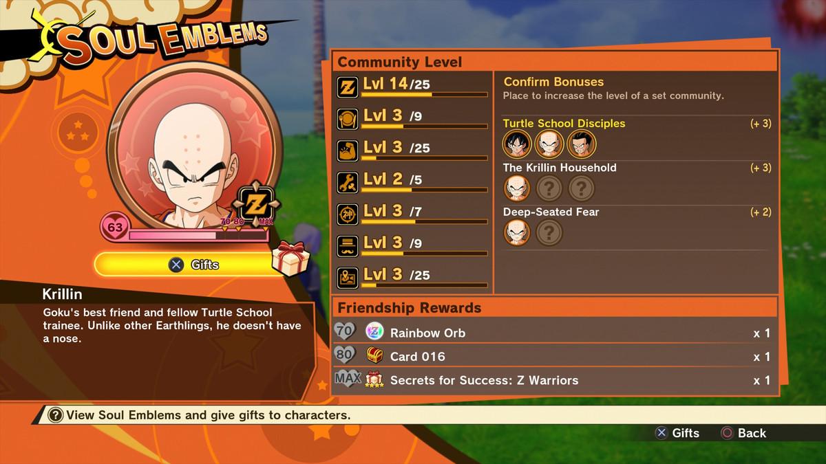 Dragon Ball Z: Kakarot Community Board